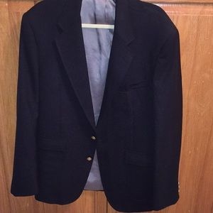 Black Jacket blazer by Stafford.   Size 44 long